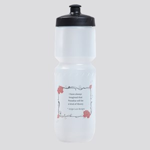 paradise library Sports Bottle