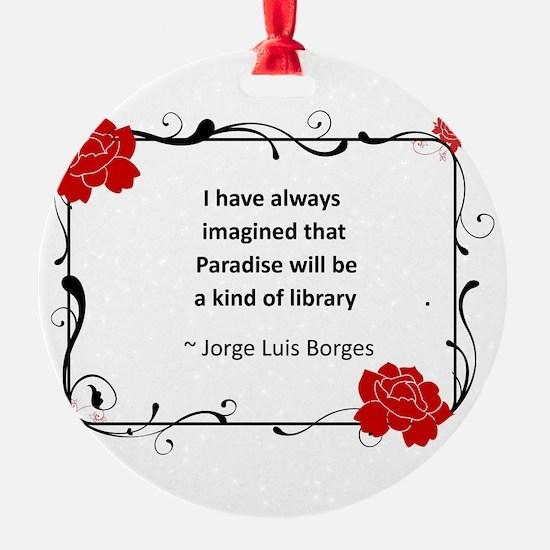paradise library.jpg Ornament