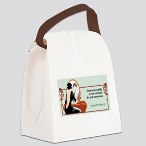 hetrosexualityparker Canvas Lunch Bag