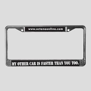 I'M FASTER License Plate Frame