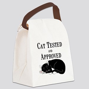 Cat Tested and Approved Canvas Lunch Bag