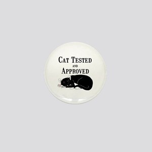 Cat Tested and Approved Mini Button
