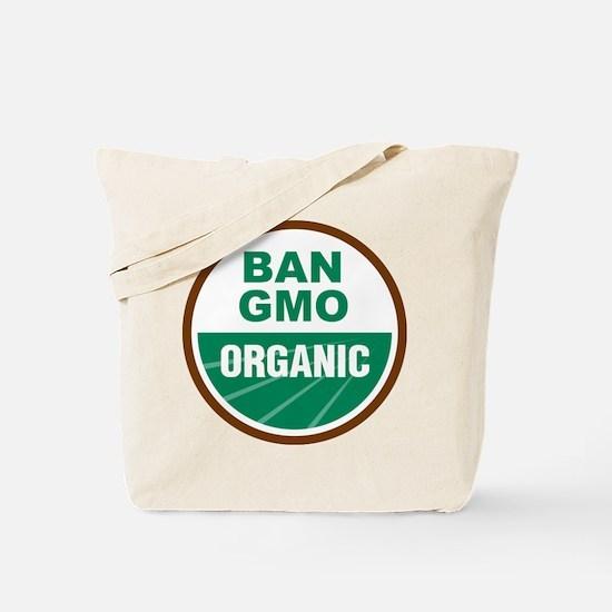 Ban GMO Organic Tote Bag