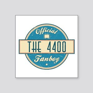 """Official The 4400 Fanboy Square Sticker 3"""" x 3"""""""