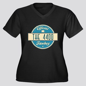 Official The 4400 Fanboy Women's Dark Plus Size V-
