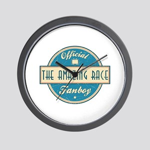 Official The Amazing Race Fanboy Wall Clock
