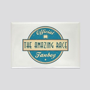 Official The Amazing Race Fanboy Rectangle Magnet