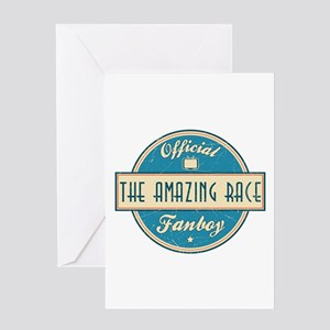 Official The Amazing Race Fanboy Greeting Card