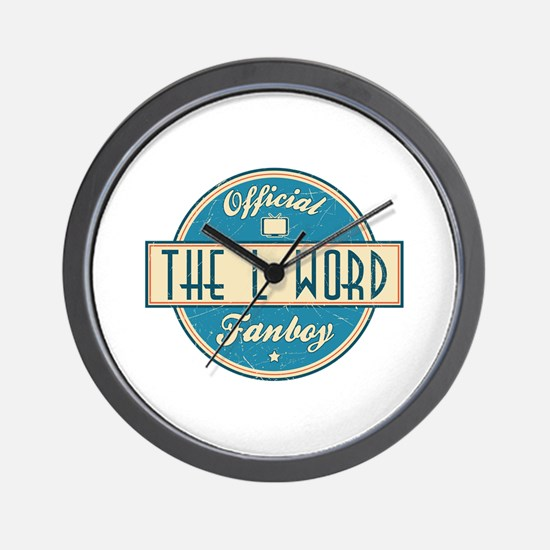 Official The L Word Fanboy Wall Clock