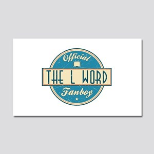 Official The L Word Fanboy Car Magnet 20 x 12