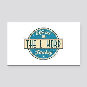 Official The L Word Fanboy Rectangle Car Magnet