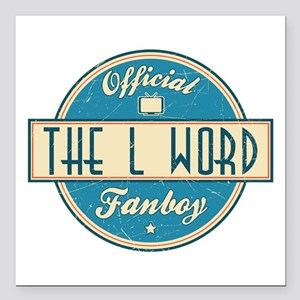 """Official The L Word Fanboy Square Car Magnet 3"""" x"""