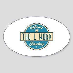 Official The L Word Fanboy Oval Sticker