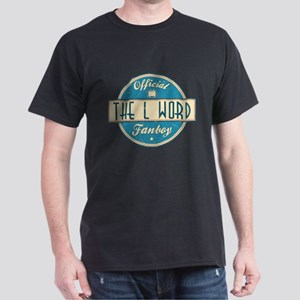 Official The L Word Fanboy Dark T-Shirt