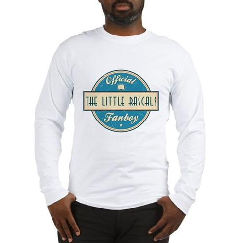 Official The Little Rascals Fanboy Long Sleeve T-S