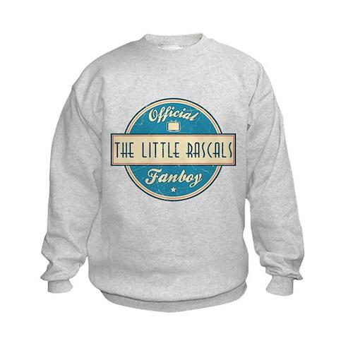 Official The Little Rascals Fanboy Kids Sweatshirt