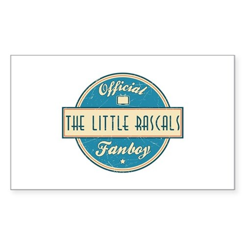 Official The Little Rascals Fanboy Rectangle Stick
