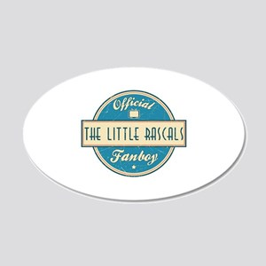 Official The Little Rascals Fanboy 22x14 Oval Wall