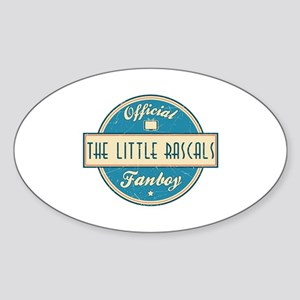 Official The Little Rascals Fanboy Oval Sticker