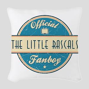 Official The Little Rascals Fanboy Woven Throw Pil