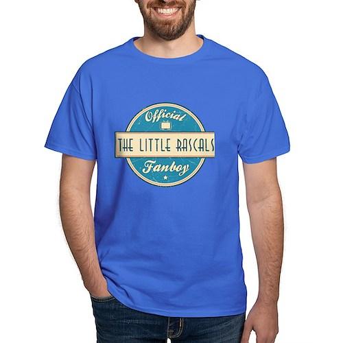 Official The Little Rascals Fanboy Dark T-Shirt