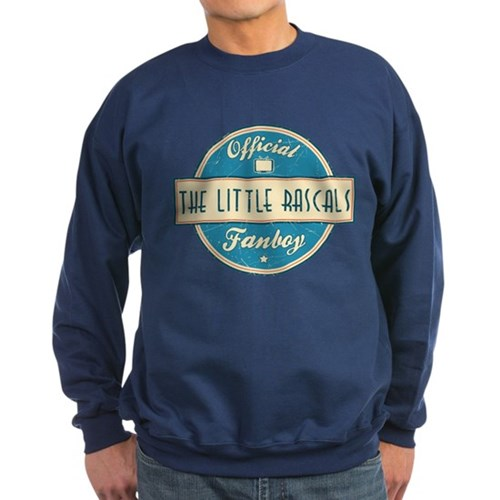 Official The Little Rascals Fanboy Dark Sweatshirt