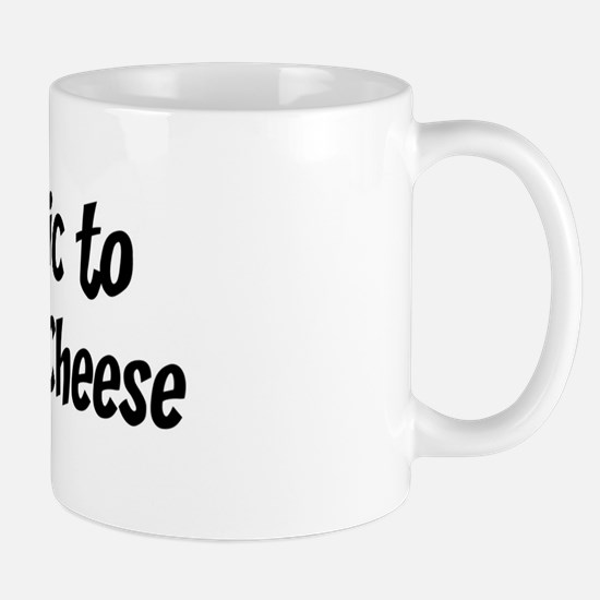 Allergic to Colby-Jack Cheese Mug
