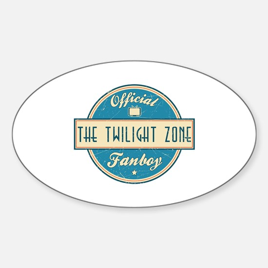 Official The Twilight Zone Fanboy Oval Decal