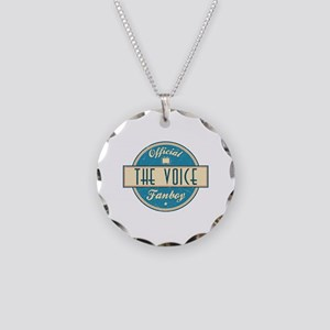 Official The Voice Fanboy Necklace Circle Charm