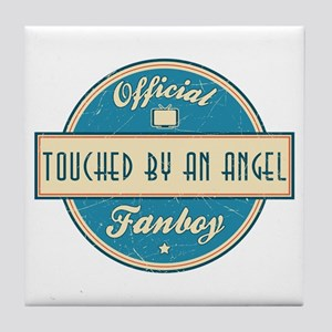 Official Touched by an Angel Fanboy Tile Coaster