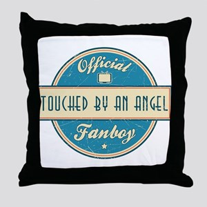 Official Touched by an Angel Fanboy Throw Pillow