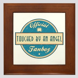 Official Touched by an Angel Fanboy Framed Tile