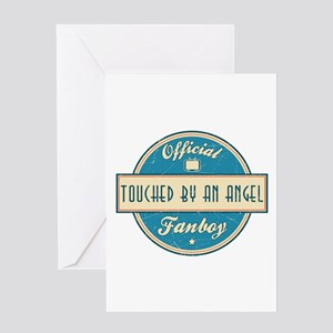 Official Touched by an Angel Fanboy Greeting Card