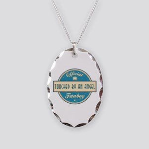 Official Touched by an Angel Fanboy Necklace Oval