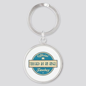 Official Touched by an Angel Fanboy Round Keychain