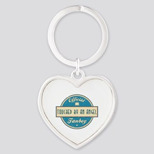 Official Touched by an Angel Fanboy Heart Keychain