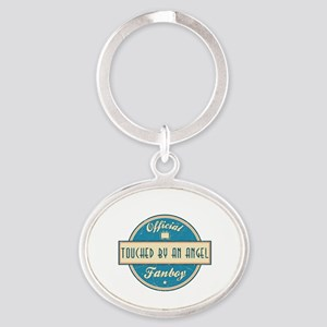 Official Touched by an Angel Fanboy Oval Keychain