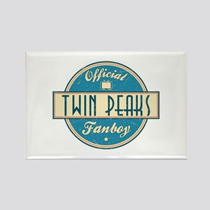 Official Twin Peaks Fanboy Rectangle Magnet