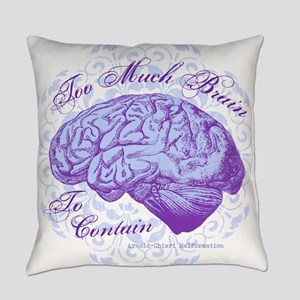 OKDS_Too_Much_Brain Everyday Pillow