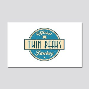 Official Twin Peaks Fanboy Car Magnet 20 x 12