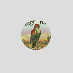 Vintage Parrot Cigar Label Mini Button