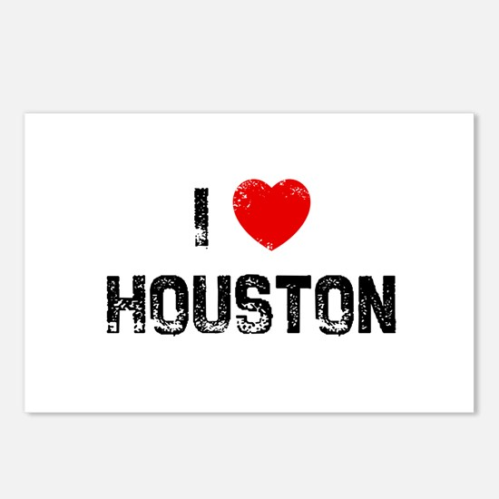 I * Houston Postcards (Package of 8)