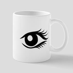 Woman eyes Mug
