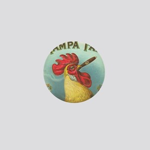 Vintage Rooster Cigar Label Mini Button