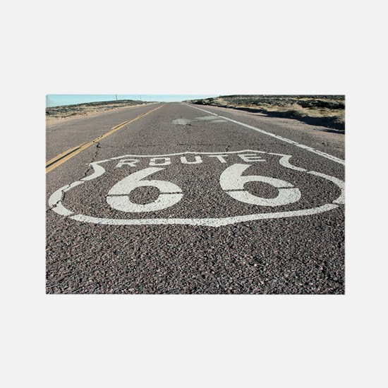 Route 66 Rectangle Magnet