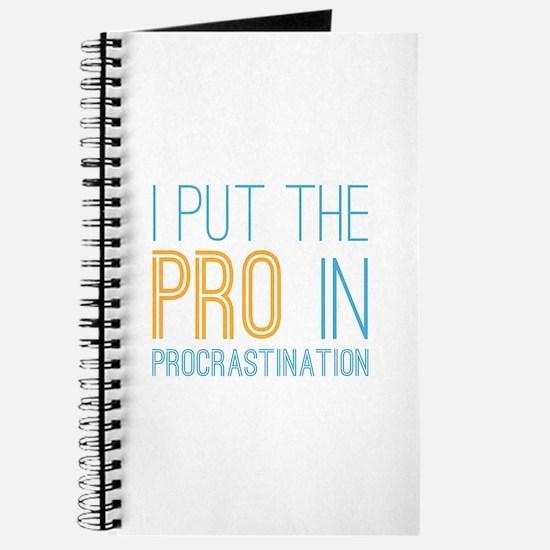 Procrastination PRO Journal