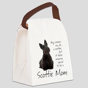 Scottie Mom Canvas Lunch Bag