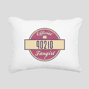 Official 90210 Fangirl Rectangular Canvas Pillow