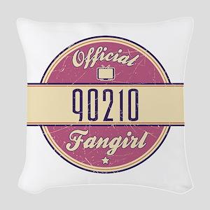 Official 90210 Fangirl Woven Throw Pillow
