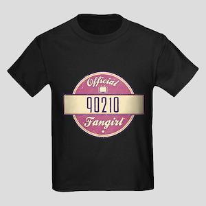 Official 90210 Fangirl Kids Dark T-Shirt